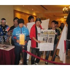 『フィリピンでの募金活動』の画像