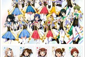 【アイマス】2021年5月2日から「『アイドルマスター』シリーズ15周年記念 オリジナル フレーム切手セット」の販売開始!