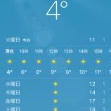 『ソウルの朝は寒いです』の画像