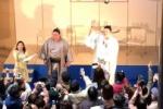 交野市出身の力士『勢関』が大阪の各所でトークショーやったそーです!~趣味のゴルフの話で盛り上がる!~