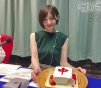 【乃木坂46】中田花奈へ「中」パイのケーキ贈呈wwクオリティたけぇww