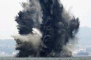 【福岡】 関門海峡で機雷爆破