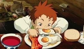 【アニメ】  ジブリ映画から、美味しい食事のシーンの画像を集めてみたよ!!  海外の反応