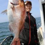 『5月26日 AM便 釣果 キャスティング ヒラマサは不発 グットなマダイゲット』の画像