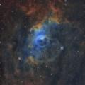 カシオペア座 NGC7635 バブル星雲