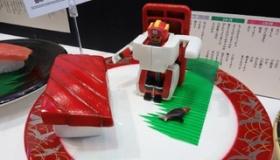 【おもちゃ】  日本から新しい変身ロボが!? 今度は「寿司」から変形だ!!  海外の反応