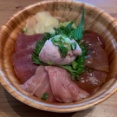 清水町にテイクアウト海鮮丼専門店「海物語。」がオープンしてる。