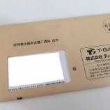 『ティーガイアから2018年3月期分の株主優待が届きました。』の画像