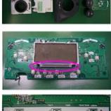 『自動車エアコンパネルのLED交換(LED打ち替え)』の画像