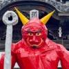 岐阜善光寺のジャンボ「鬼」