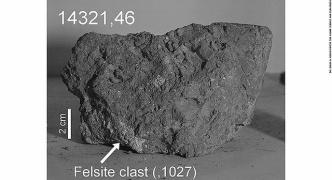 アポロ14号が持ち帰った「月の岩石」は地球産だった・・・小惑星が地球に衝突して宇宙に飛ばされた石が偶然に月面まで到達