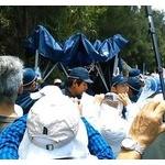 辺野古のプロ土人「道端にテント建てたら機動隊に撤去されました。熱中症になったらどうするんだ!」