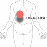 『不意に起こる背部から腰部への激痛 室蘭登別すのさき鍼灸整骨院 症例報告』の画像
