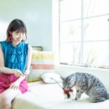 『【乃木坂46】ニコニコ笑顔w 猫と遊ぶ西野七瀬が可愛すぎるwwwwww』の画像