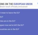 イギリス人が一斉に「EUを離脱するってどういうこと」と検索し始めるw