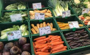 ドイツの市場で買った野菜たち