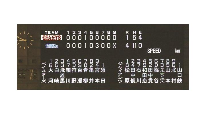 巨人・宇佐見さん、二塁送球でセンターを破壊!?