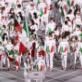 イタリア代表選手団、EMPORIO ARMANI EA7のユニフォームで入場。東京オリンピック開会式