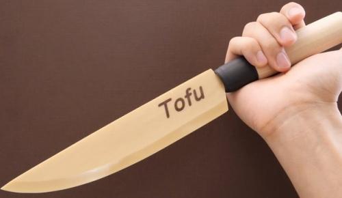 豆腐から包丁を作った日本人に海外騒然【圧倒的不審者の極み】