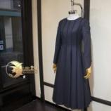 『店頭12枚接切替布タック長袖ドレスが完成』の画像