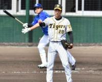 【阪神】小野は2回2安打3失点。DeNA佐野に逆転3ラン浴びる。