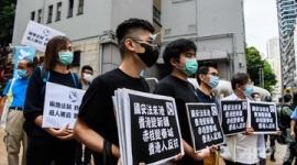 【中国】香港は内政問題、外国が干渉すれば即反撃すると警告