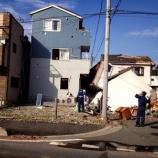 『(番外編)越谷市で竜巻被害』の画像