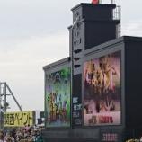 『甲子園~'18.4月 阪神vs.ヤクルト「虎ウィングッズプレゼントデー」』の画像