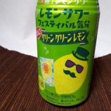 『【飲んでみた】やや酸っぱめのちょうど良さ、寶「極上レモンサワー」<グリーングリーンレモン>』の画像