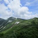 飯豊連峰北股岳(足の松尾根からピストン)  8月2日