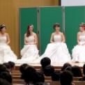 日本大学生物資源学部藤桜祭2014 ミス&ミスターNUBSコンテスト2014の32(ミスNUBS候補4人)