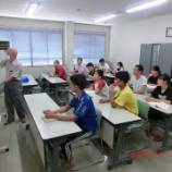 『日本語研修開催 夏休み後初』の画像