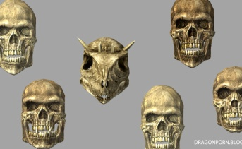頭蓋骨コレクションMOD
