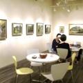 銀座アートスペースで個展を開催しました(2017年9月)