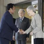 天皇・皇后両陛下、来日中のパラオ大統領と昼食