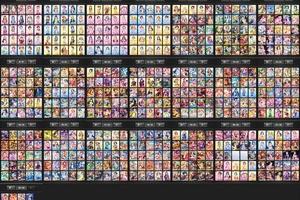 【グリマス】こうやって一覧にするとグリマスも大分カード増えたなぁと思うんだが