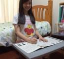 橋本環奈 自室のアイロン台で勉強している様子を公開