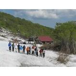 『コブ中級キャンプ1期終了。緑と青と白の月山!』の画像