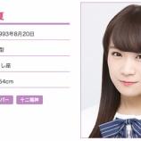 『【乃木坂46】公式プロフィール更新で身長が縮んだメンバーが多数いる模様wwww』の画像