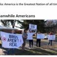ヨーロッパ人「アメリカ人が『鳥は存在しない』とか主張してて笑う」海外の反応