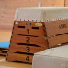 『運動会の跳び箱練習の紹介』の画像