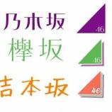 『『吉本坂』が加わった坂道シリーズのロゴを並べてみた結果・・・』の画像