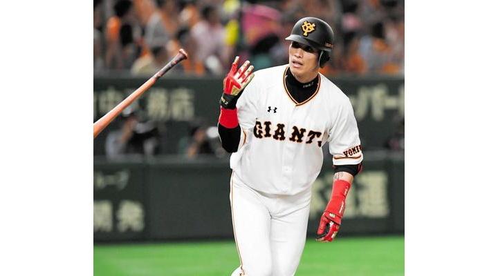 巨人1年目・陽岱鋼 87試合 .264  9本 33打点 4盗塁