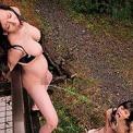 露出調教聖水レズビアン 堀内秋美×北島玲×池上桜子