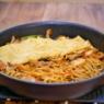 フライパンで食べるバター風味の「豚キム玉焼きそば」&「麺職人ふぐだしラーメン」