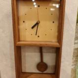 『飛騨高山・CRAFT DESIGN KUNIのブラックウォールナット振り子時計』の画像