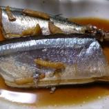 『秋刀魚の生姜煮』の画像