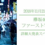 『欅坂46グループ初の1st写真集、参加メンバーは一期生のみと判明!』の画像