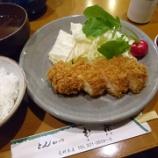 『ルミナリエ開催中の元町で夕食~@とんかつ武蔵』の画像