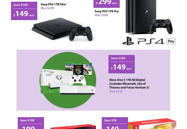 【安すぎ!】ブラックフライデーセール!?PS4 Slim/Switch Lite $149、Switch $199、PS4 Pro $299